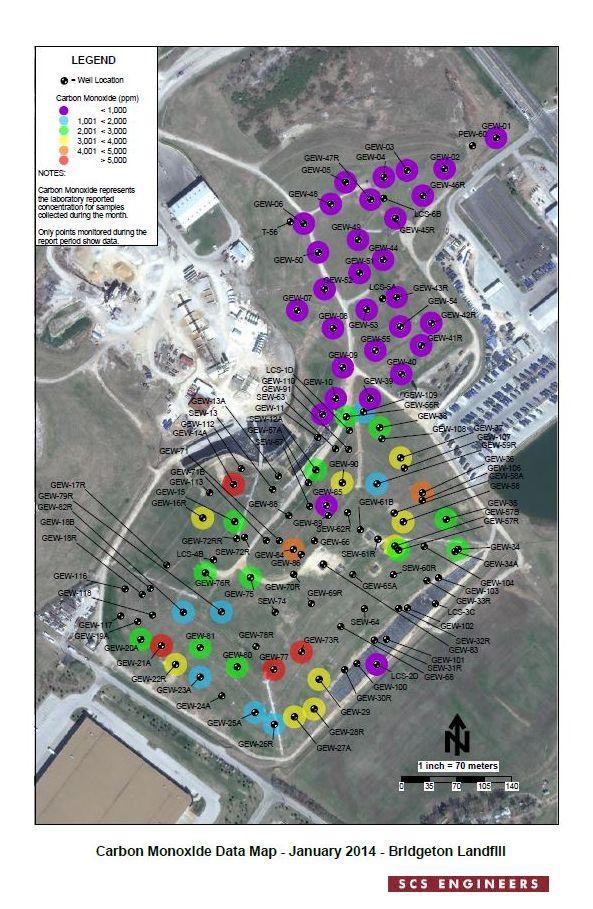 Landfill fire radioactive dating
