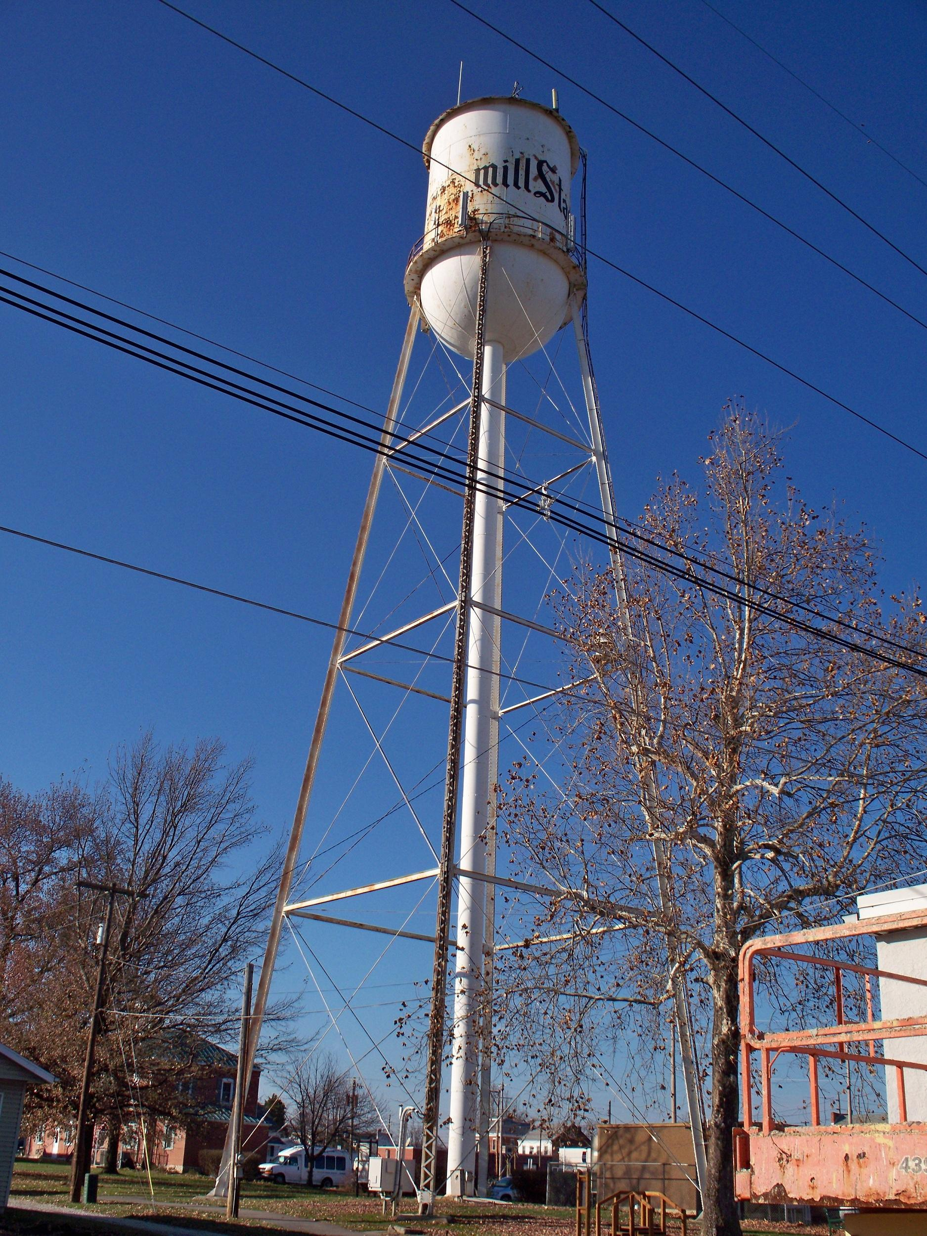 Millstadt Water Tower Hotel Belleville Make Illinois