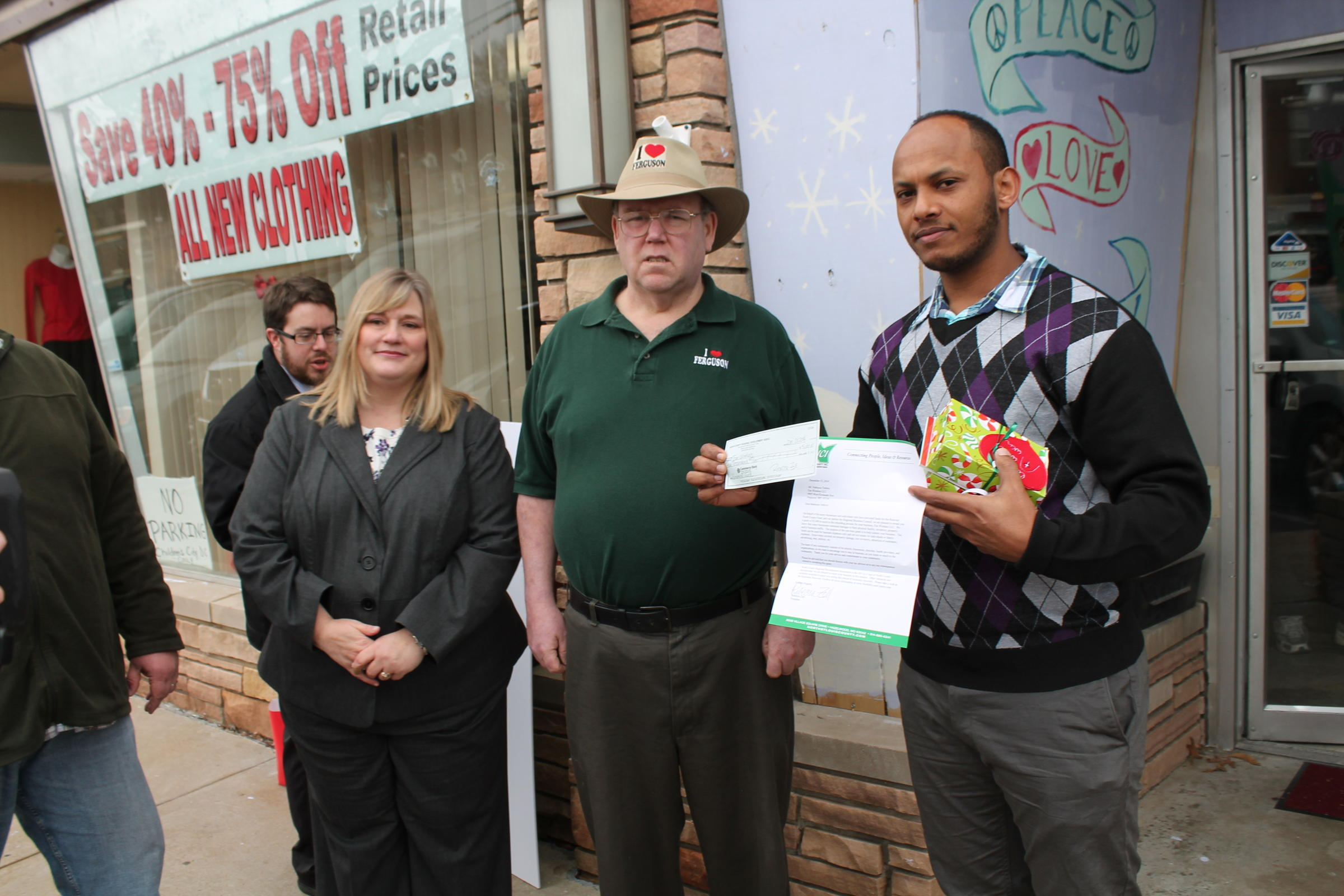 I Love Ferguson Committee Gives To North County Reconstruction ...