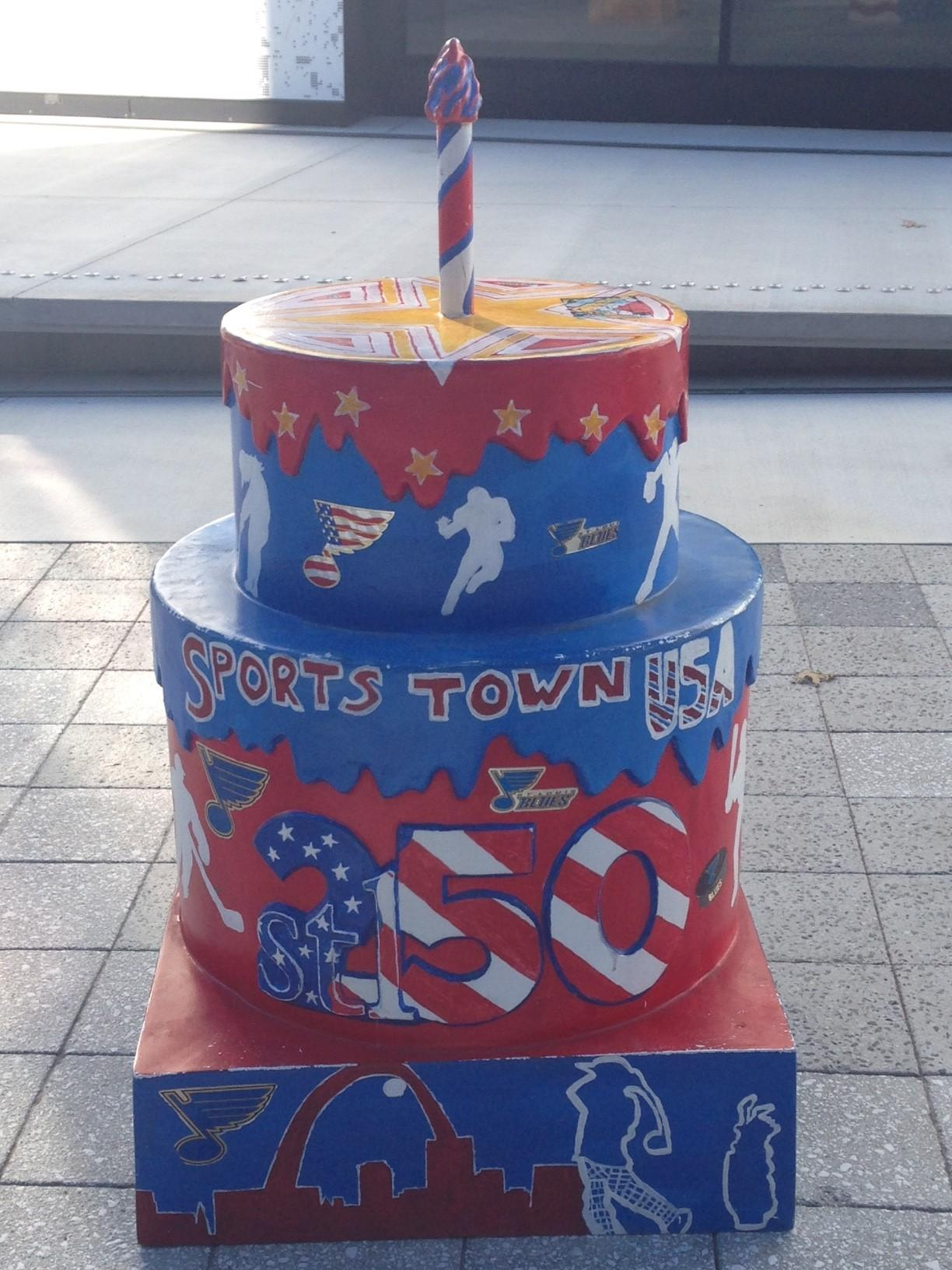 Stl250 Birthday Cakes Arriving In Grand Center St Louis Public Radio
