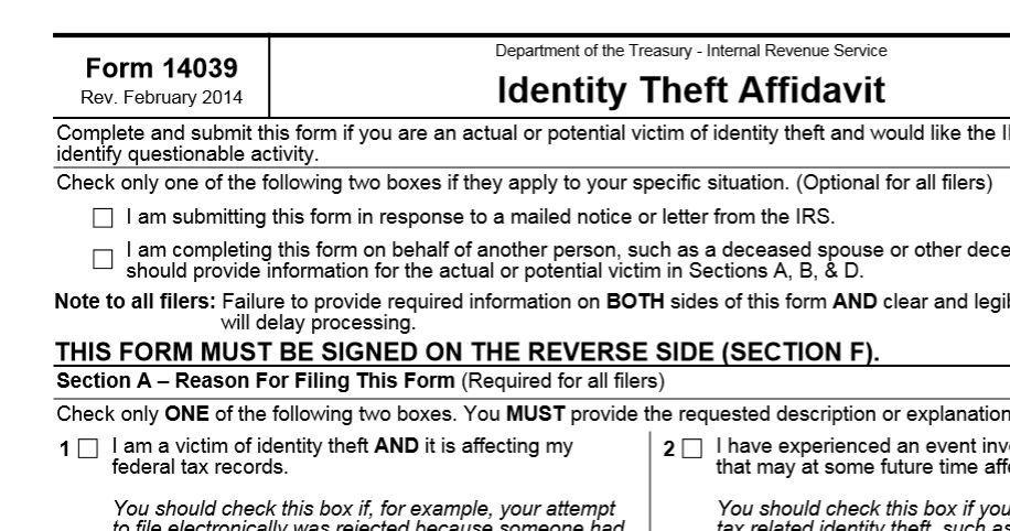 Tax Season Is Identity Theft Season St Louis Public Radio