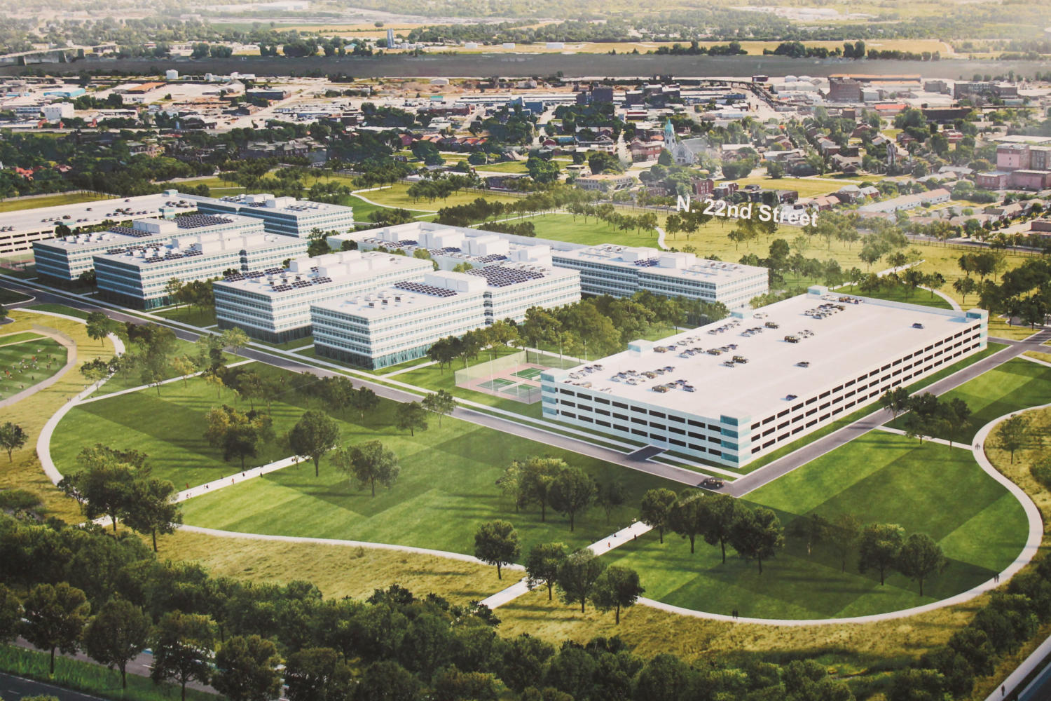 A Rendering Of What The New Nga Campus Might Look Like The National Geospatial Intelligence Agency