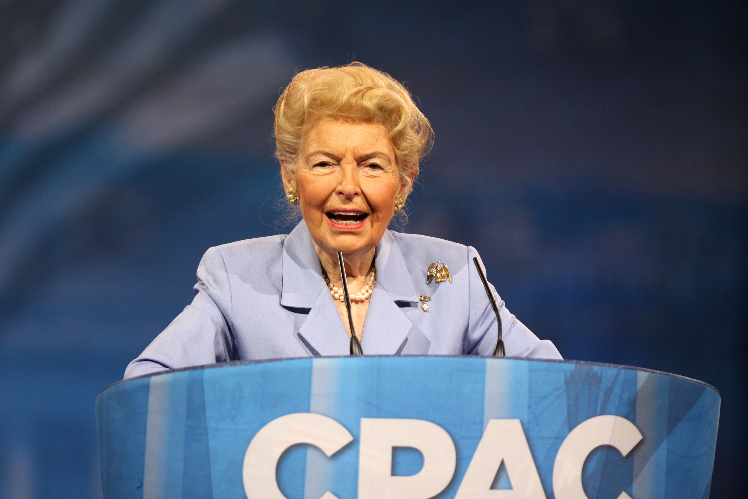 Phyllis Schlafly Speaking At The 2013 Conservative Political Action Conference Was A Significant Force For Views