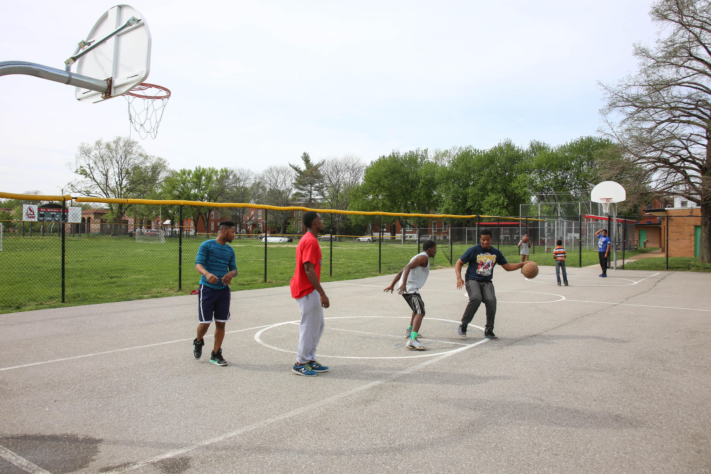 when it comes to basketball courts in st louis not every park is