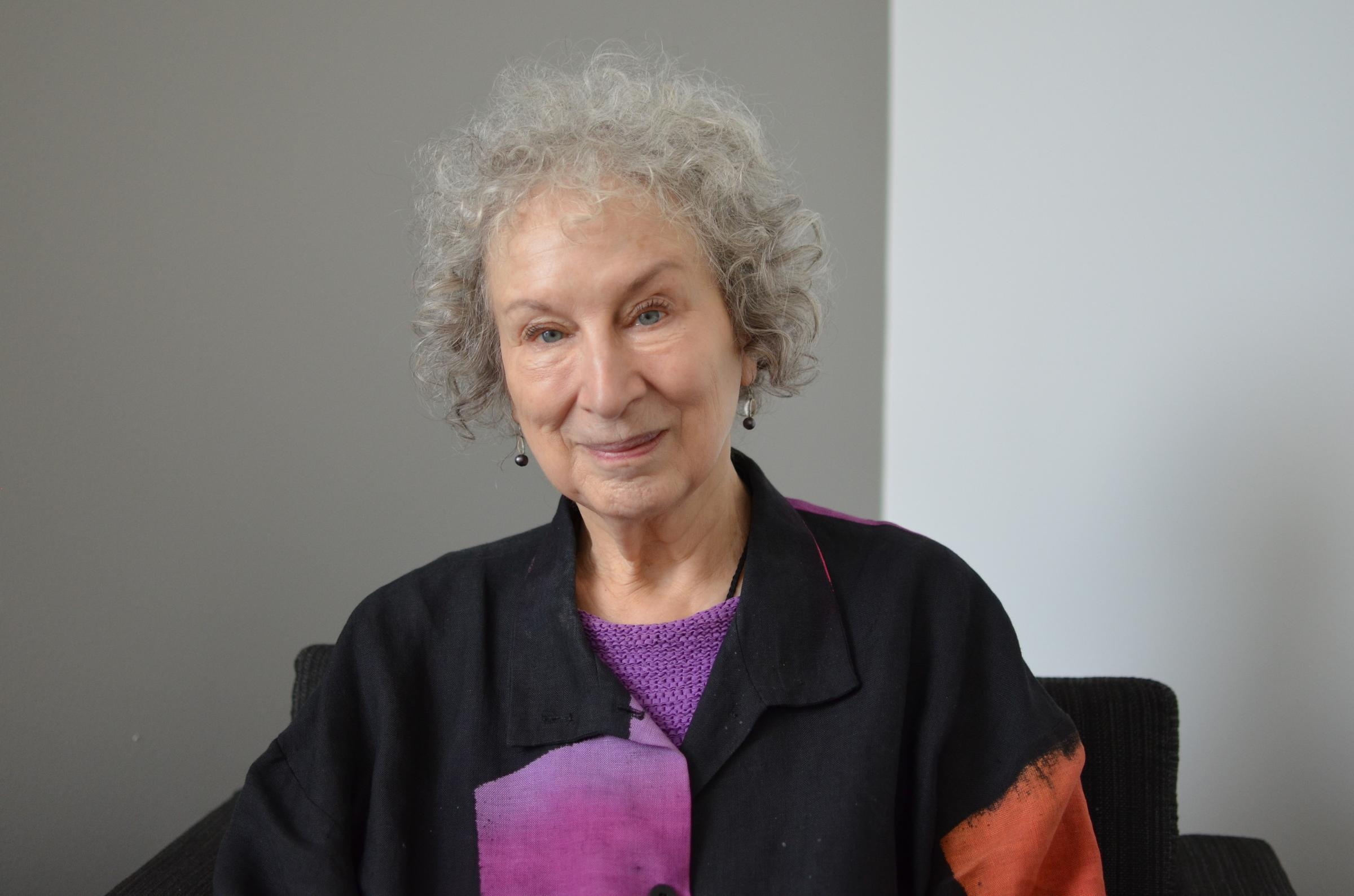 Chatting with margaret atwood author of the handmaid s for The atwood