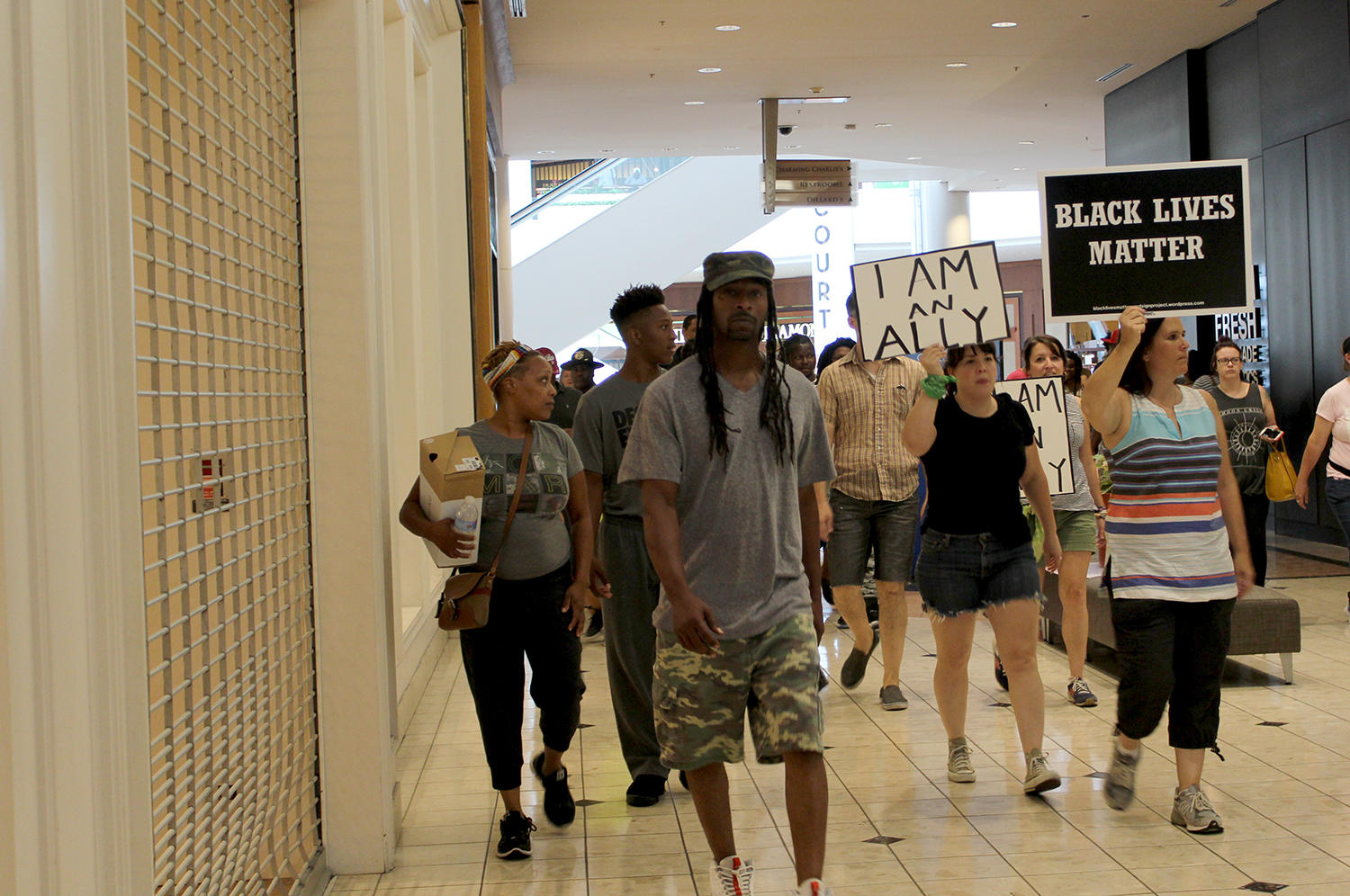 'This is way wrong'; Columbia mom questions son's Galleria protest arrest