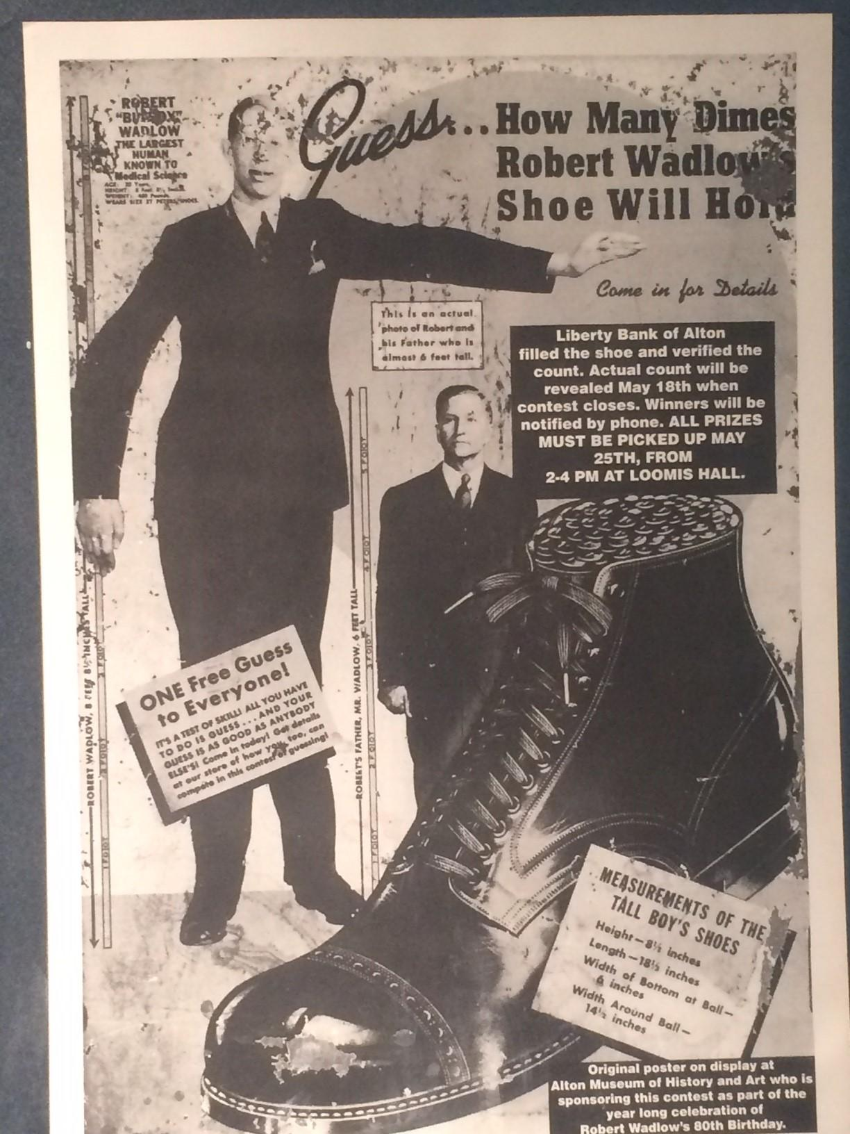 remembering alton s beloved robert wadlow tallest man ever a