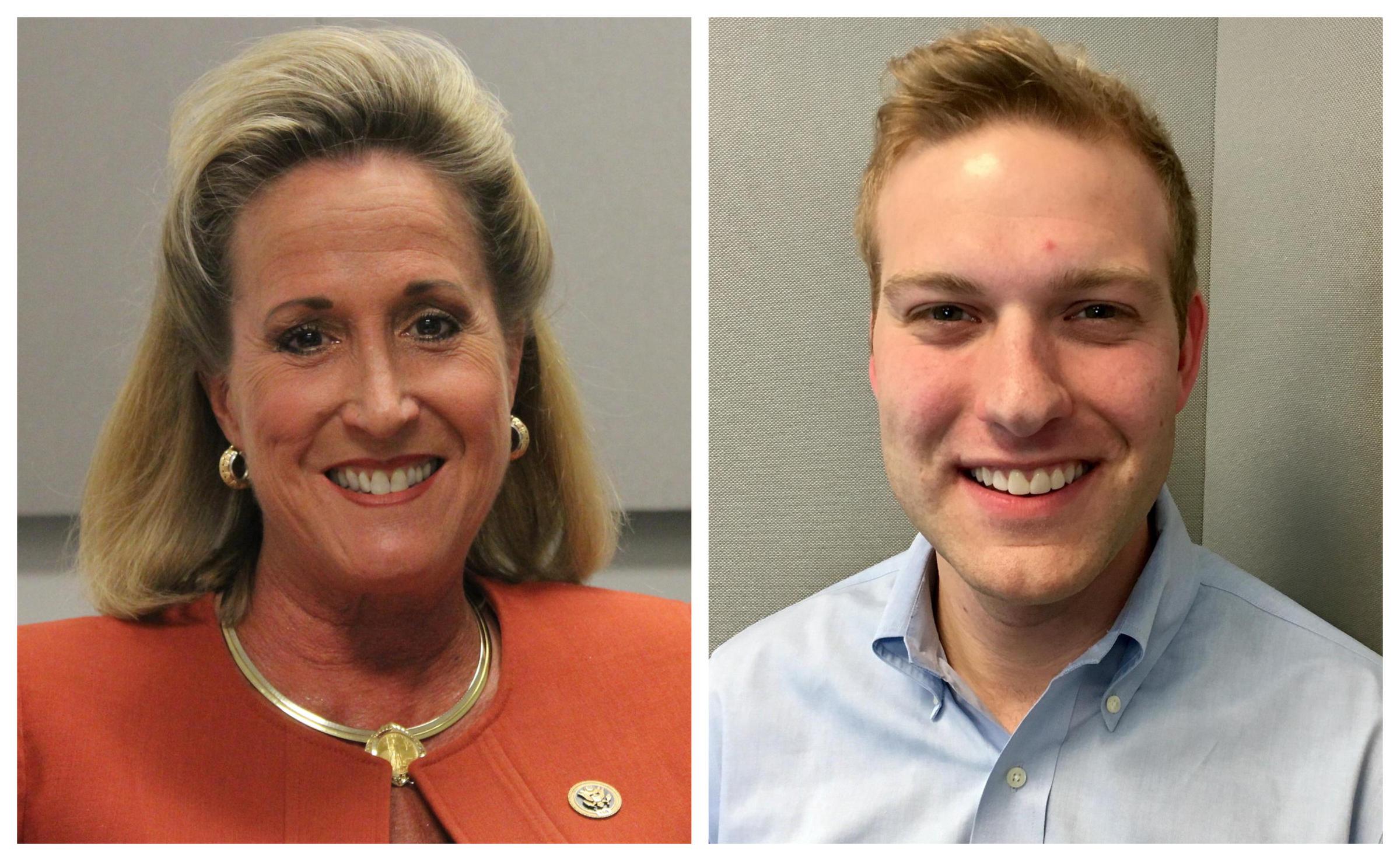 U S Rep Ann Wagner R Ballwin Faces Democratic Challenger Cort Vanostran In The November Election