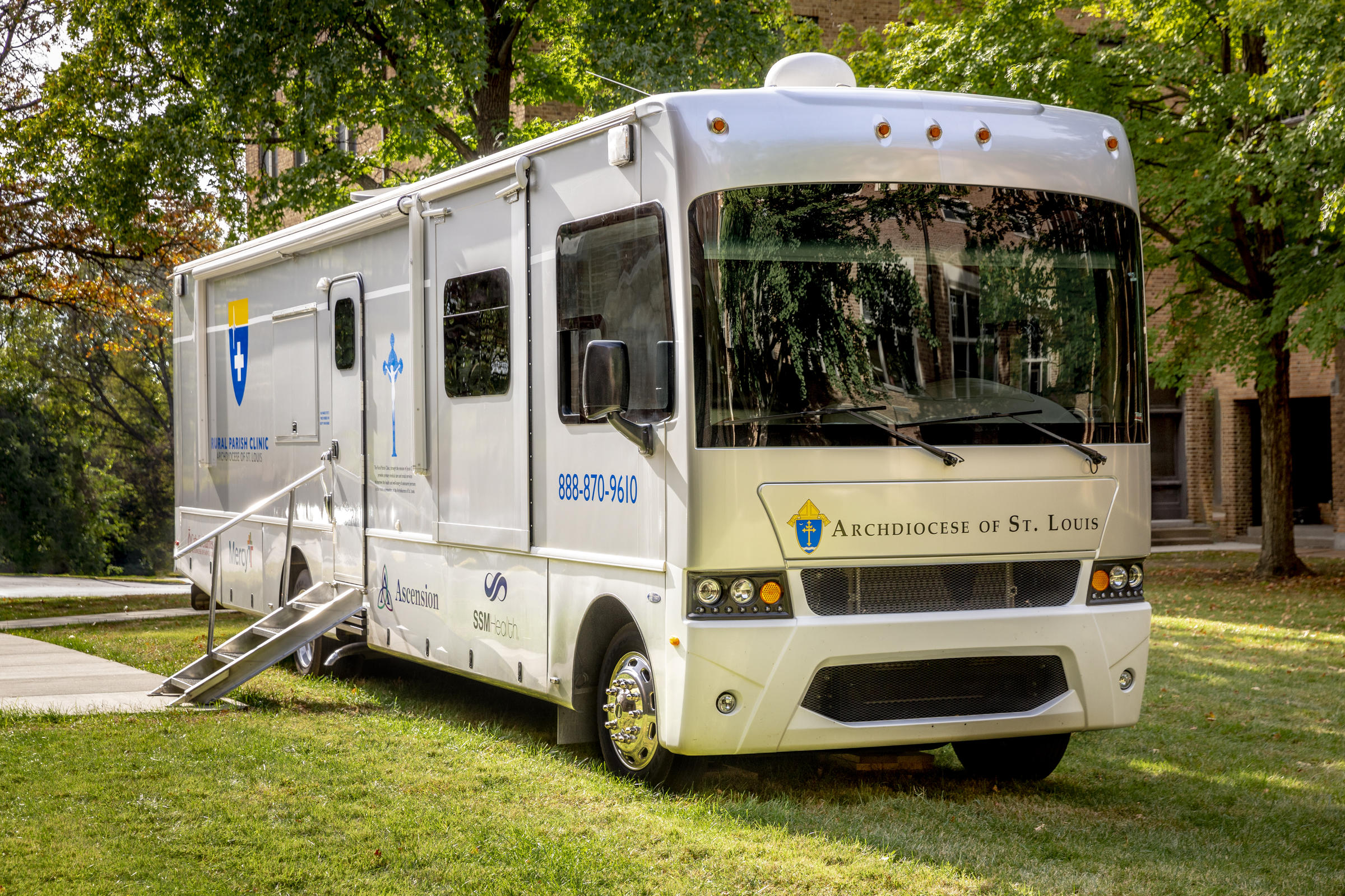 Archdiocese of St. Louis to open free, mobile, medical clinic for rural patients