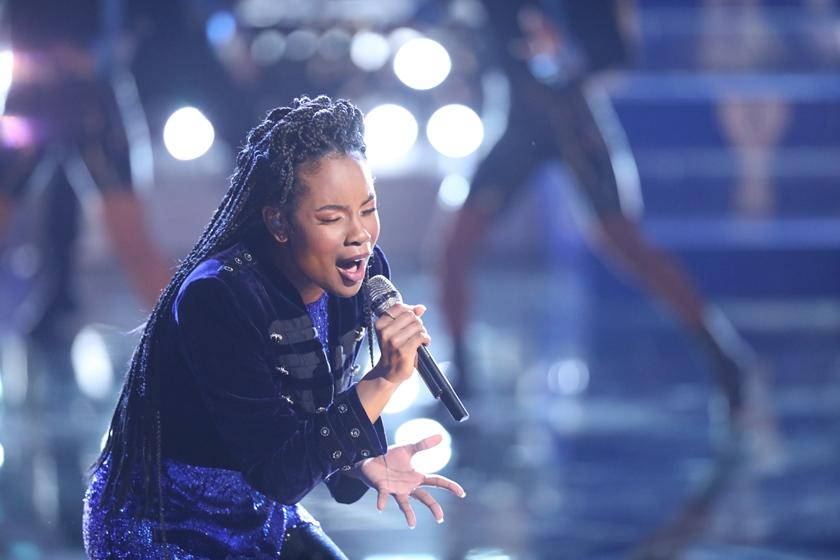 coming in 4th on the voice doesn t faze this 14 year old