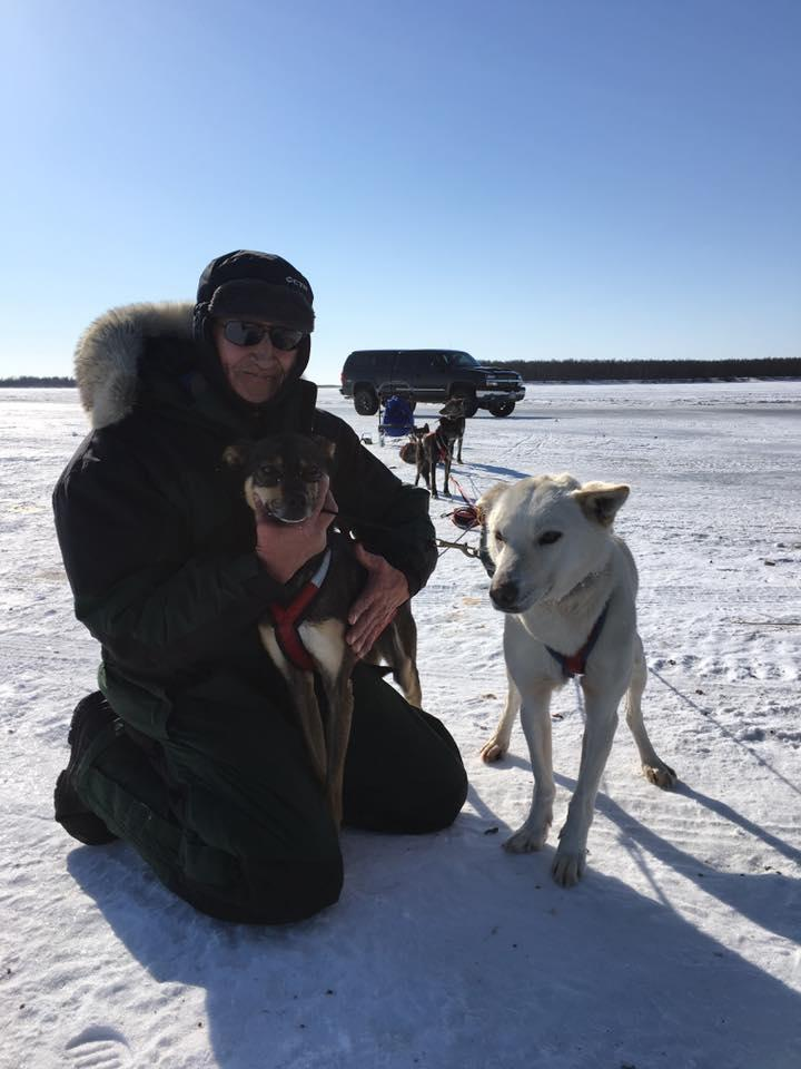 Joe Demantle from Tuluksak finished first in the 2017 K300 Campout Sled Dog Race in three hours and 12 seconds, winning $2,895.