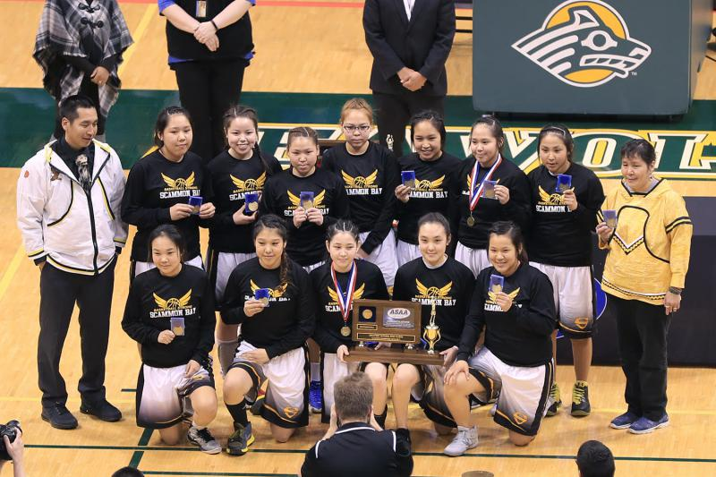 scammon girls Two yukon-kuskokwim delta girls basketball teams will face off for one of the semifinal rounds of the state 1a tournament after winning both their games.