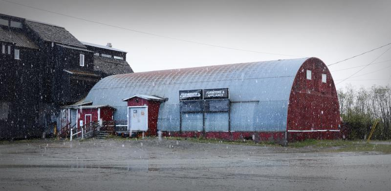 Swanson's has announced that it's applying to turn its old furniture store in Bethel into a liquor store.