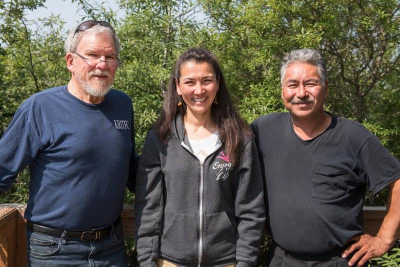 Former Inter-Tribal Fisheries Commission Executive Director LaMont Albertson, Executive Director Mary Peltola, and Chairman and Upriver In-season Manager Nick Kameroff discuss the changing management of the Kuskokwim under tribes.