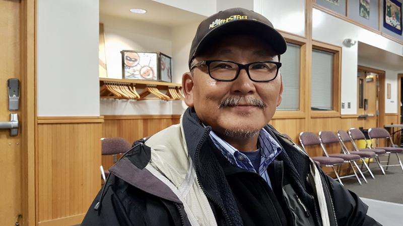 Chariton Epchook is the Chairman of the Nunavut Alaska Provisional Government, which formed last week.