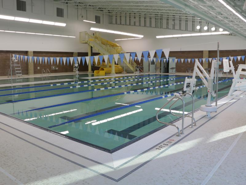 The pool at the Yukon-Kuskokwim Fitness Center in Bethel.