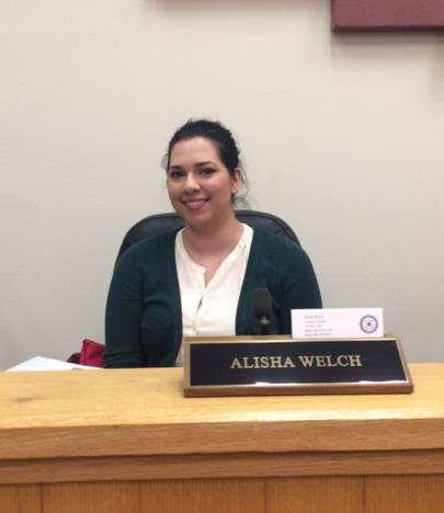 Alisha Welch served one term on Bethel's City Council.