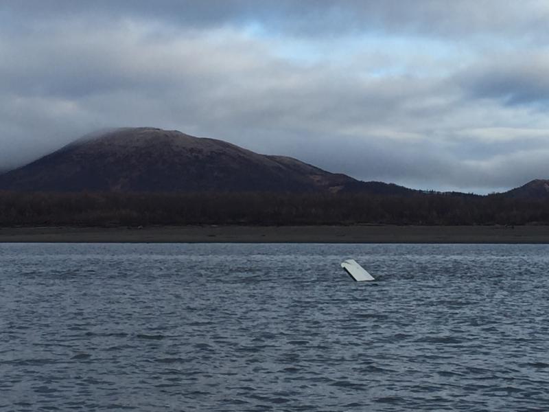 Stevens' plane was found submerged in the Yukon River.