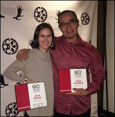 """Alaska filmmaker Anna Hoover and composer Phillip """"Ossie"""" Kairaiuak won the GCI-Walter Kaitz Fellowship last week."""