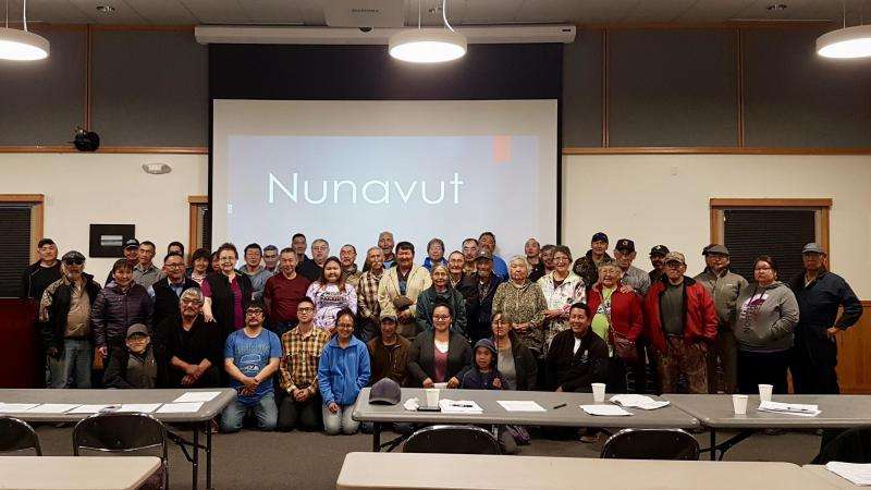 Tribal delegates signed a treaty to form the Nunavut Alaska Provisional Government last August. This week, Akiak voted to formally join the new governing body.