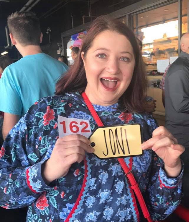 "Bethel resident Joni Beckham poses outside ""The Price Is Right"" studio on November 13, 2017 after winning $63,000 worth of prizes as a Double Showcase Winner. The game show episode aired on January 29, 2018."