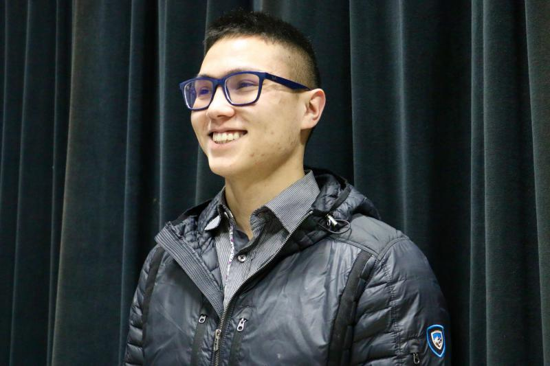 Ben Anderson-Agimuk, age 25, was selected to chair House District 38's local Democratic Party on Tuesday.