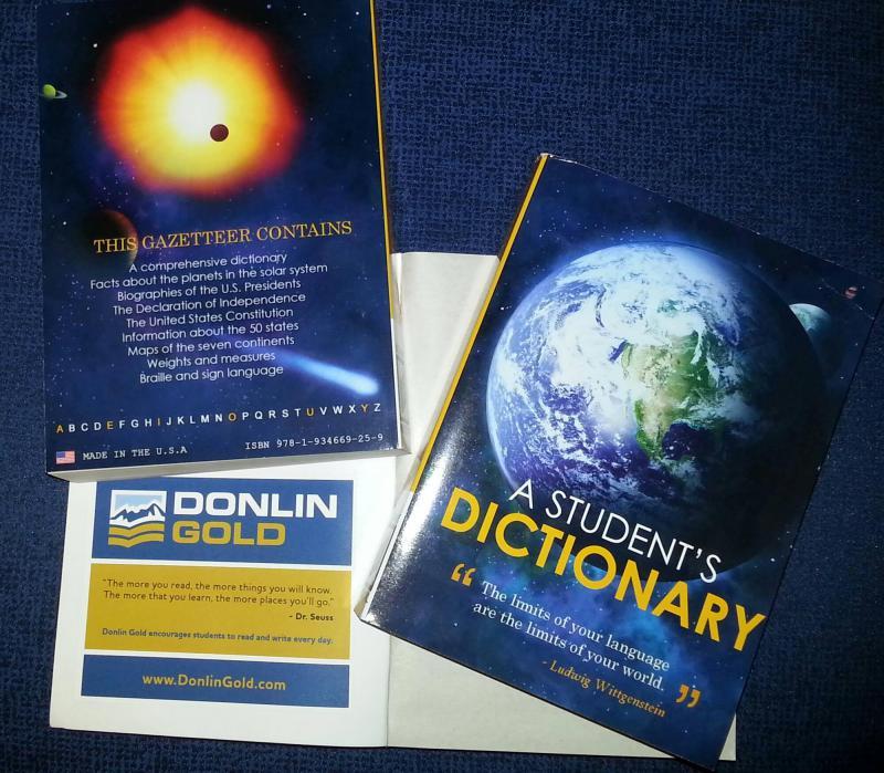 Dictionaries for the Yukon-Kuskokwim Region's third graders.