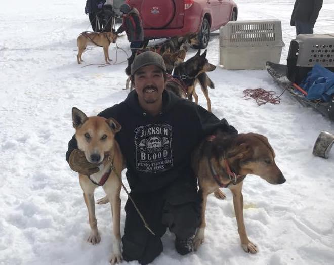 Cameron Jackson of Akiak won the Camp Out Race with a time of 3 hours and 2 minutes on March 25, 2018.