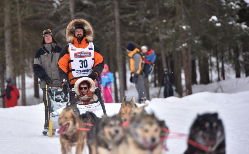Pete Kaiser finished fifth in the Iditarod on March 14, 2018.