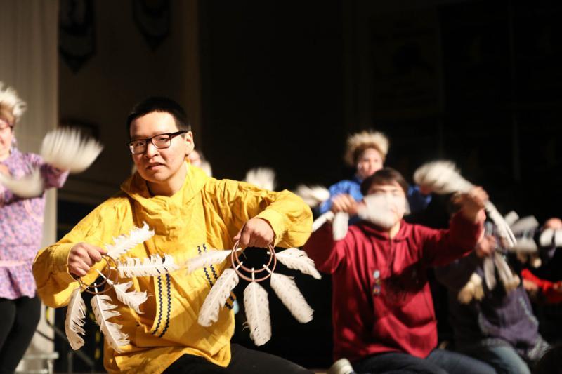 The theme of this year's Cama-i was Cauyat Tupagtelarait Nauviput, or Drums Awaken Our Souls.
