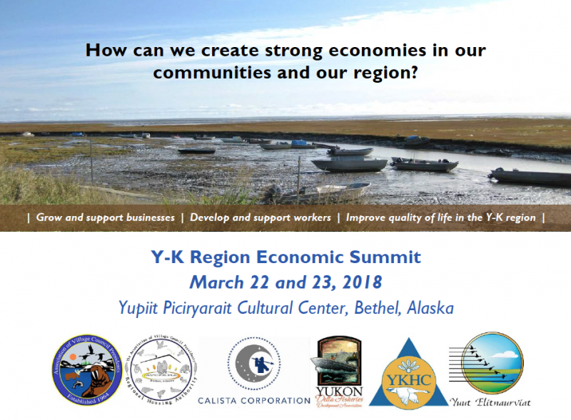 The YK Economic Summit this Thursday and Friday, March 22 and 23, 2018.