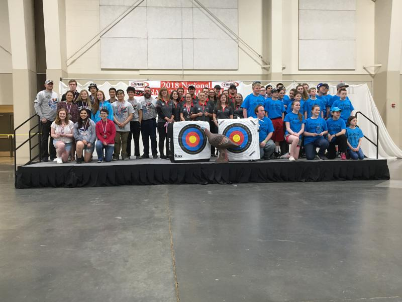 Bethel High School archers came away from the Western National Archery Tournament with a third place team finish.