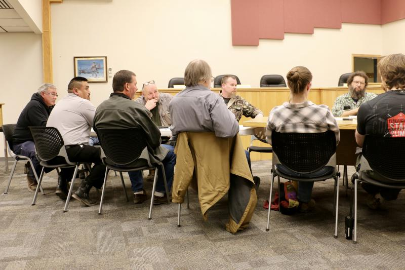 The city's first Alcohol Task Force in recent history met on Tuesday, April 17, 2018 at Bethel City Hall. Municipal, tribal, and business leaders were there to come up with ideas for addressing alcohol-related problems.
