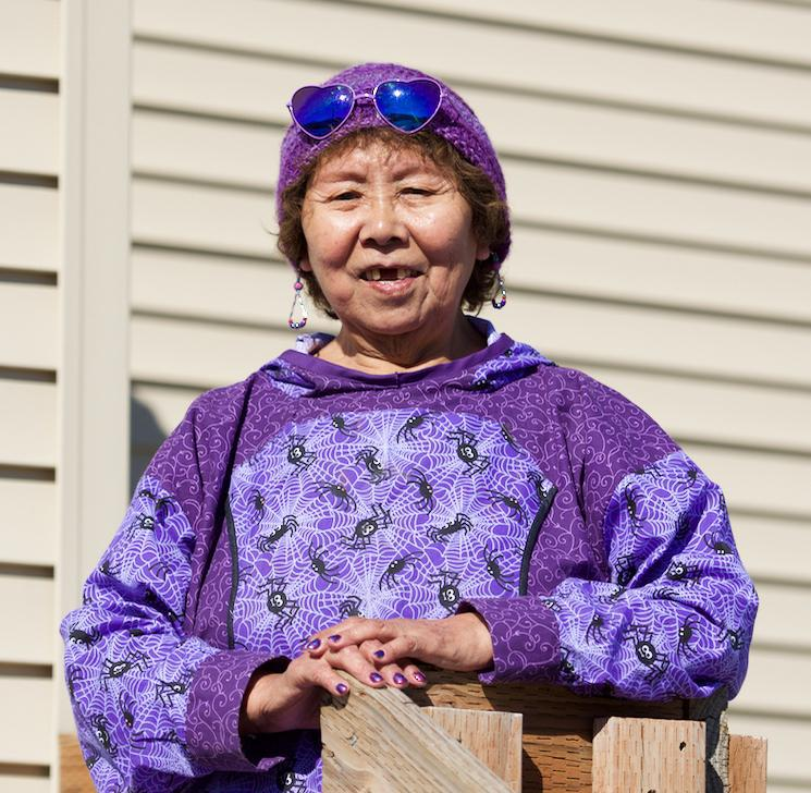 Bethel City Council will vote on whether to appoint Yup'ik elder Mary Nanuwak to the body during its meeting on May 22, 2018. Nanuwak would fill the vacancy left by former council member Naim Shabani. Nanuwak is pictured here in 2016 during her unsuccessf