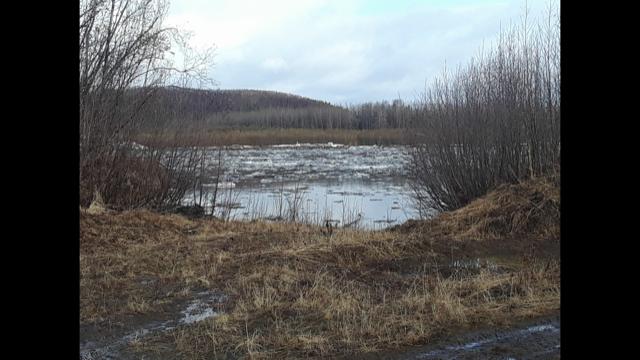 Sleetmute, AK. Photo taken on May 11, 2018.