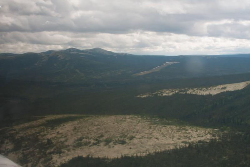 The site for the proposed Donlin gold mine.