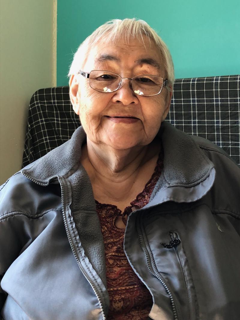 John Active's sister-in-law Elsie Jacobs. Photo taken on June 5, 2018.