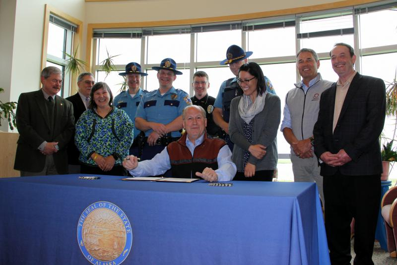 Gov. Walker signed Senate Bill 148 on June 22, 2018. The bill will help villages to run background checks on future police officers, but it is voluntary for village police officers.