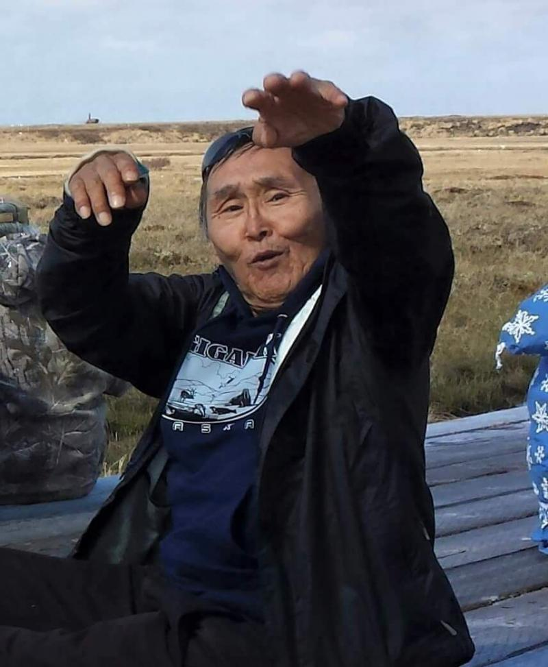 John Joseph Aqumgaciq Active in Kongiganak, AK. Photo taken on May 26, 2015.