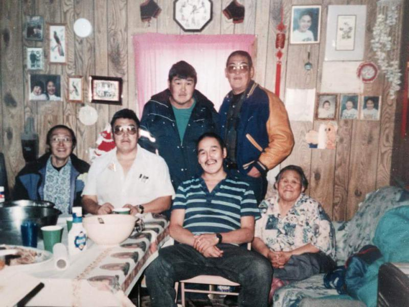 The Active Family in the 1980's on Thanksgiving.