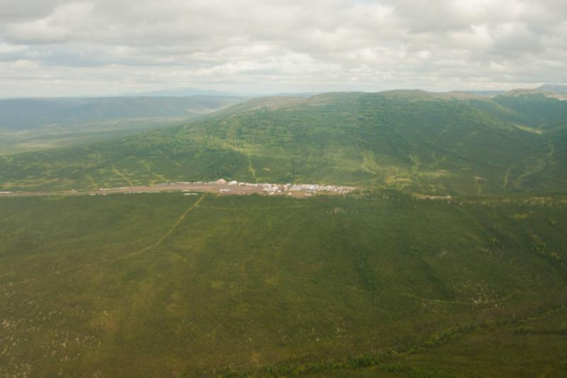 The Donlin mine would be one of the biggest gold mines in the world if developed.