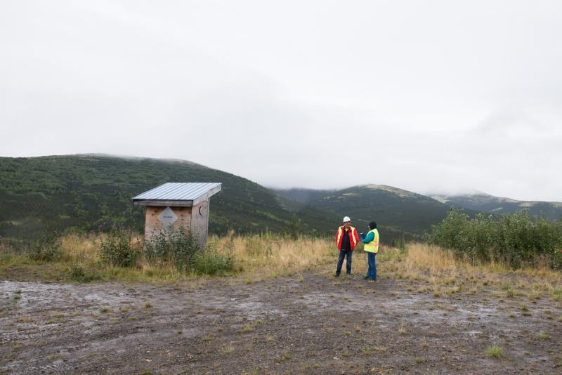 The proposed site for what could be one of the largest gold mines in the world: the Donlin mine.
