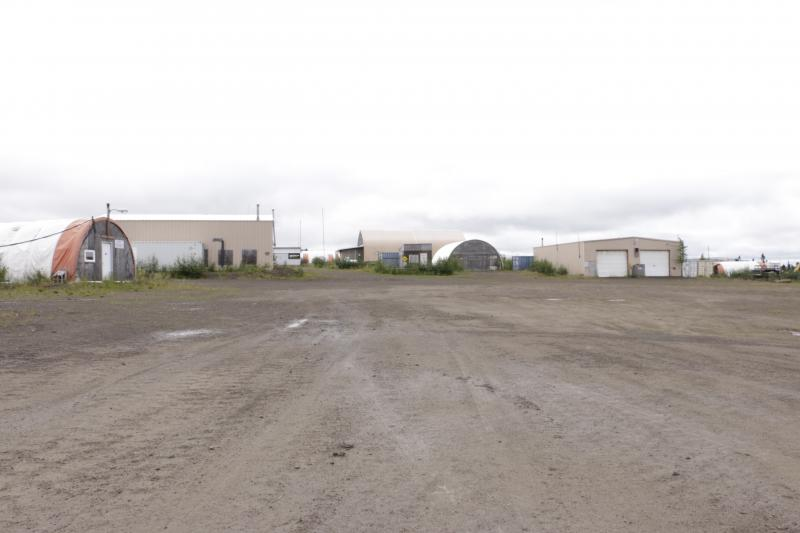 The camp for Donlin Gold employees is mostly empty this year as the company prepares for more permits.