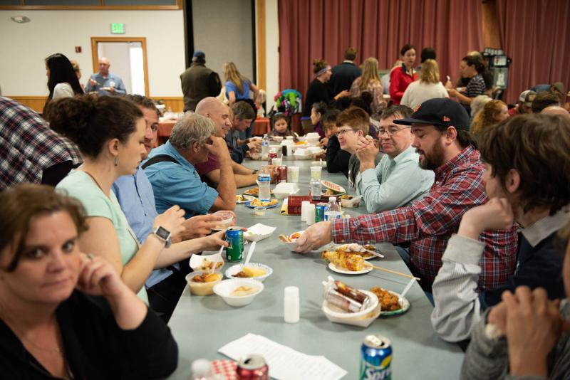 Hundreds of people packed into the Bethel Cultural Center for the second annual Taste of Bethel event on August 18, 2018.