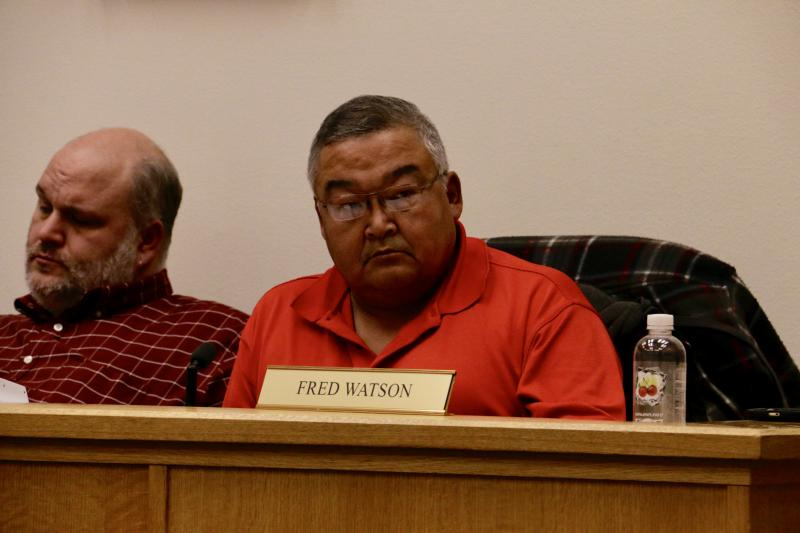 Vice Mayor Fred Watson, who proposed an ordinance at this weeks City Council meeting to update city smoking laws.
