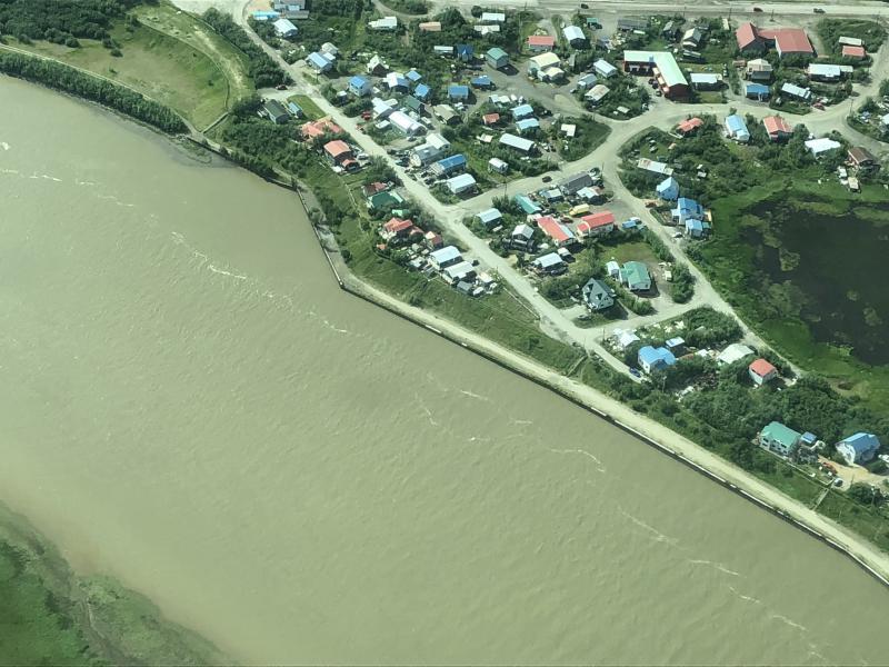 We're located on the Kuskokwim River, Teresa.