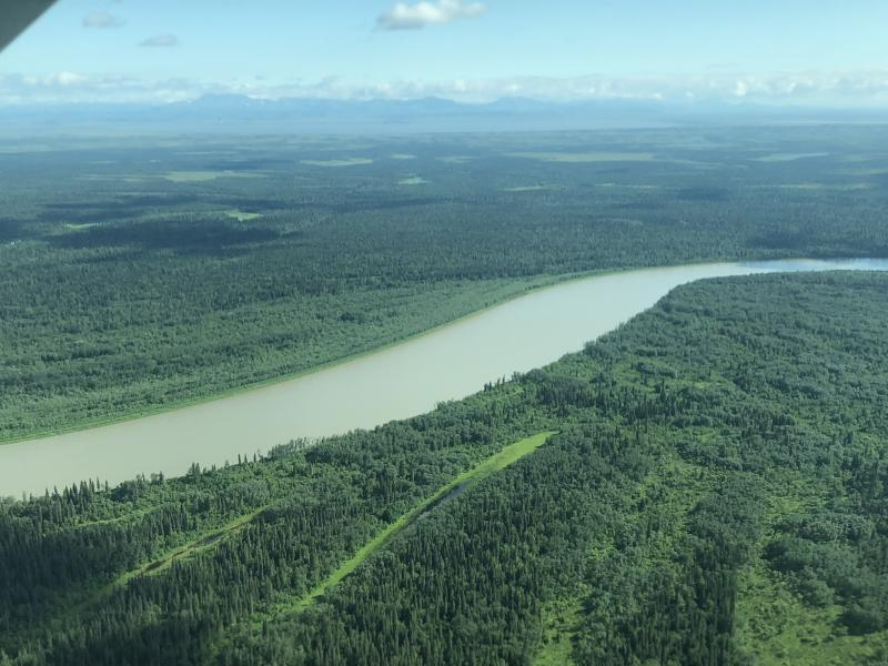 The one and only Kuskokwim River.