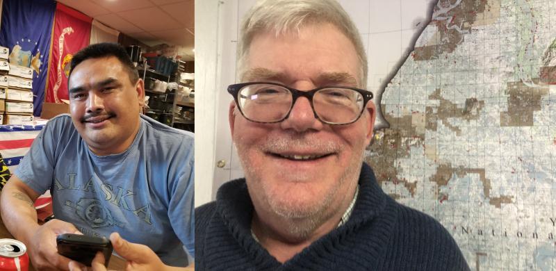 Fritz Charles (left) and Mark Springer (right).