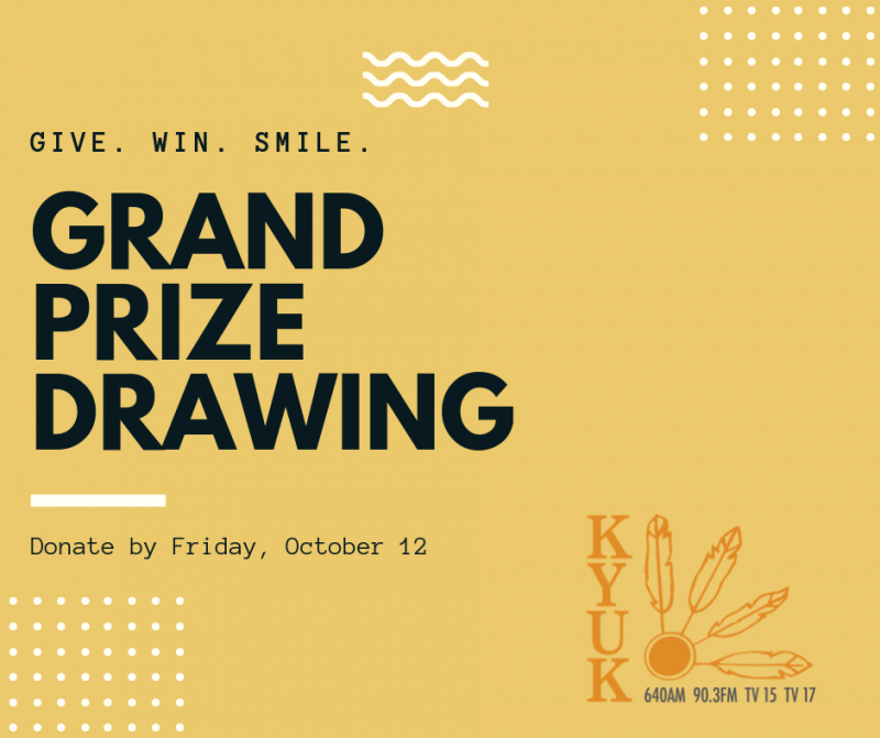 Fall Fundraiser Grand Prize Drawing