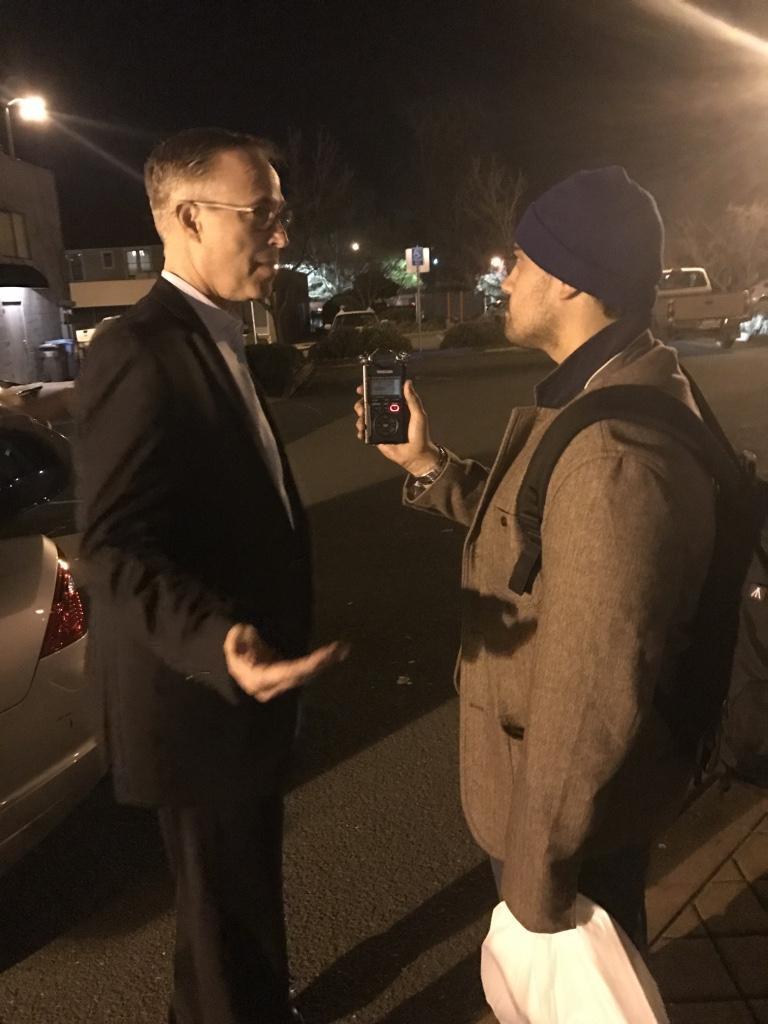 KZYX's Jason Morash interviews Congressman Huffman